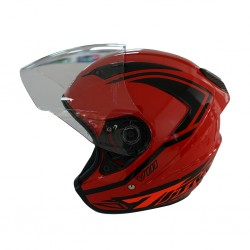Index Titan - 8  Red Helmet