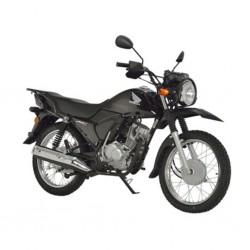 Honda CGX125 Black 124cc Motorbike