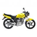 Suzuki EN125-2a 124cc Yellow Motorbike