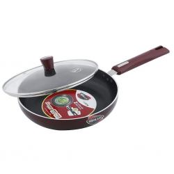 Nirlep Select JFP26GL 26cm Fry Pan With Glass Lid