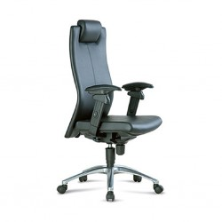 Executive High Back Chair FE01 Semi Leather