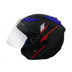 Index Vera - I  Shield Matt Black Helmet