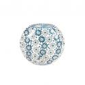 Mosaic Glass Lamp LIWT-KGV197 L.Blue/White