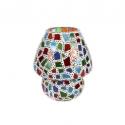 Mosaic Glass Lamp LIWT-KGV212 Multicolored