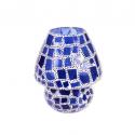 Mosaic Glass Lamp LIWT-KGV219 Blue