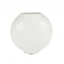 Mosaic Glass Lamp LIWT-KGV492 White
