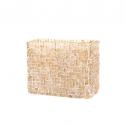 Mosaic Glass Lamp Rect LIWT-KGV827 Beige