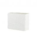 Mosaic Glass Lamp Rect LIWT-KGV892 White