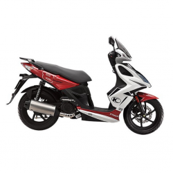 Kymco Super 8 125 Red Scooter