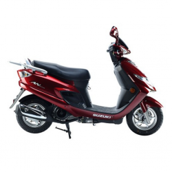 Suzuki AN125 Red 124CC Scooter