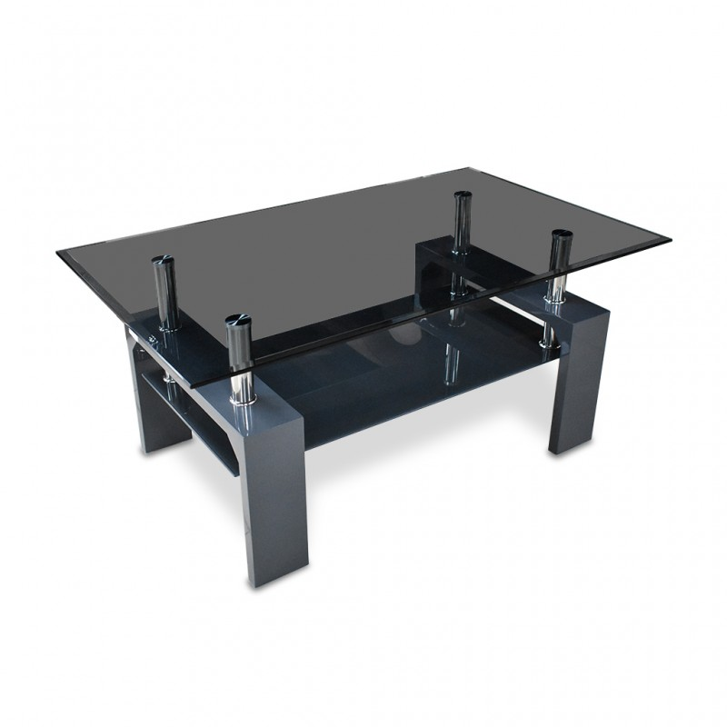 Glory Coffee Table Black MDF