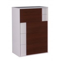 Turin high chest 5 Drawers