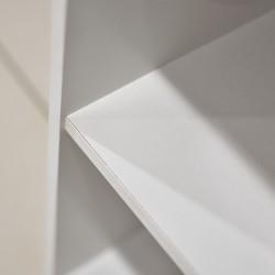 Nexus Shelving White Particle Board 1 shelf