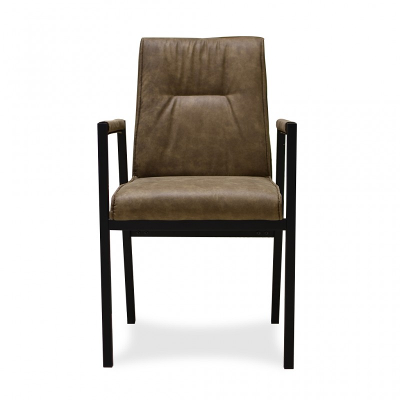 Soren Chair Brown Pu