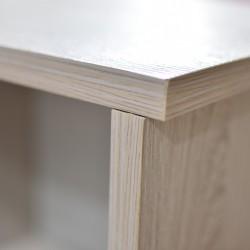 Scoop Bookshelve MDF Wash Oak