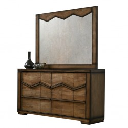 Staten Dressing Table Brown Rubberwood/MDF