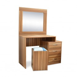 Atlante Dressing Table MDF Oak