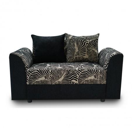 Blaydon Sofa 3+2+1 Fabric Black