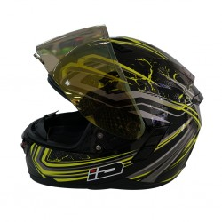 Index Spider Black Helmet