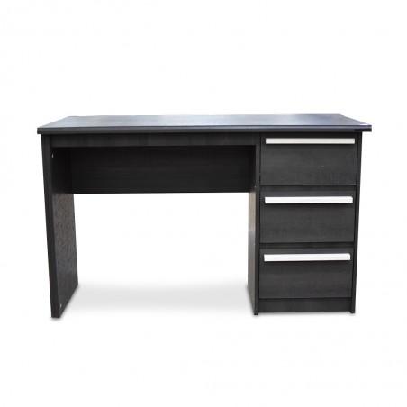Graffic Office Table Melamine Ebony Oak