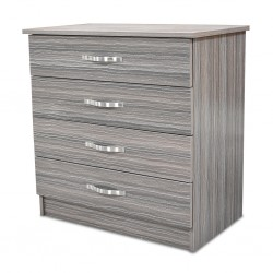 Colton Chest of Drawers Grey MDF