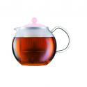 """Bodum A1823-XYB-Y19-P 0.5L Assam Tea Press Pink """"O"""""""