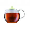 """Bodum A1823-XYB-Y19-G 0.5L Assam Tea Press Green """"O"""""""