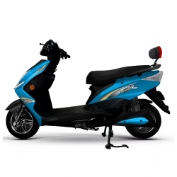 Hongdu Phantom 1500W Blue Electric Bike
