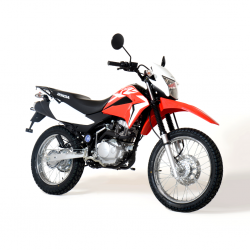 Honda XR125 125cc Red Trail Motorbike