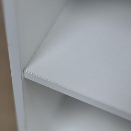 Nexus Shelving White Particle Board 2 shelves