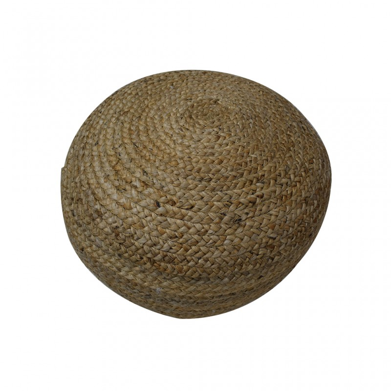 Pouf Hand Woven,Jute with EPS beans filling inside- SE-PF-1097