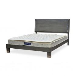 Venezia Bed 150x200 cm Grey Finish Pine