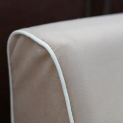 Vallusto Latte Large Sectional Corner
