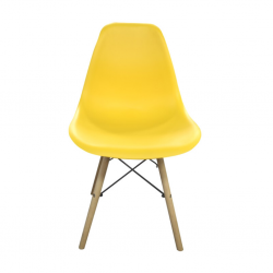 Grace Chair Yellow PP Seat