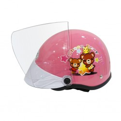 Index Okie Pink Kids Helmet