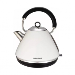 Morphy Richards 102005/EE White Acc Pyramid Kettle