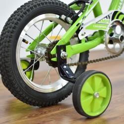 "Champion YM-1201 12"" Green Boys Bike"