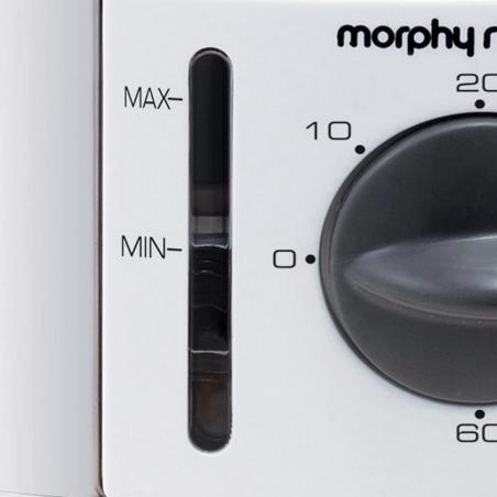 Morphy Richards 470001 9L 3Tier White Food Steamer