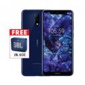 Nokia 5.1 Plus Blue & Free JBL GO2