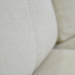 Sabella LVST Reclining Ivory Color Fabric