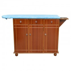 Country Sunset Ironing Table 3 Doors Natural MDF