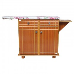 Country Sunset Ironing Table 2 Doors Natural MDF