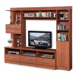 Fairmont Berry High TV Cabinet Cherry