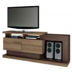 Brazilia Fusion Low TV Cabinet Cappuccino