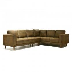 Emsworth Sofa Corner LHF Brown M/F