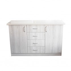 Flavi Sideboard 2 Doors MDF Grey