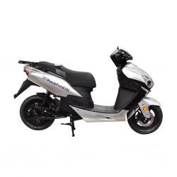 Rockford TMEC 514 2000 Watts (2Kw) Electric Motorcycle Silver Bike