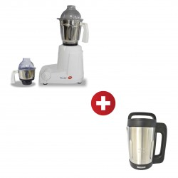 Preethi MG182/04 500W Eco Mixer Grinder + Concetto CSM-617 1.6L Stainless Steel Soup Maker