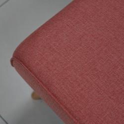 Amalia Sofa Bed Trendy Pink Fabric