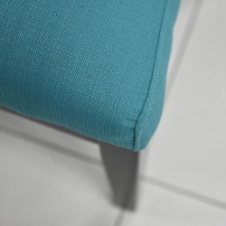 Cove Accent Chair Sachi 2 Teal Color Fabric